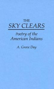 Cover of: The sky clears