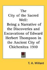 Cover of: The City of the Sacred Well | T. A. Willard