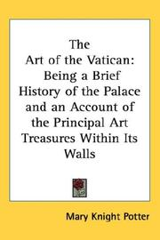 Cover of: The Art of the Vatican