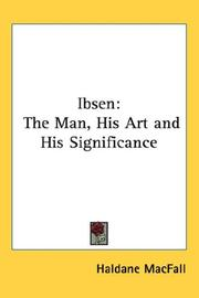 Cover of: Ibsen | Haldane Macfall