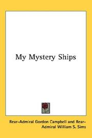 Cover of: My Mystery Ships