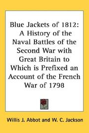 Cover of: Blue Jackets of 1812 | Willis J. Abbot