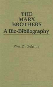 Cover of: The Marx brothers: a bio-bibliography