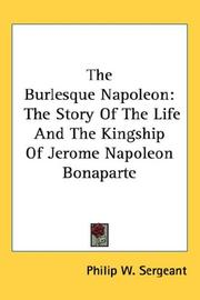 Cover of: The Burlesque Napoleon