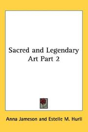 Cover of: Sacred and Legendary Art Part 2 | Anna Jameson