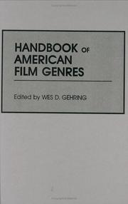 Cover of: Handbook of American film genres |