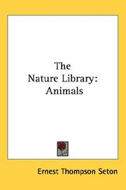 Cover of: The Nature Library: Animals