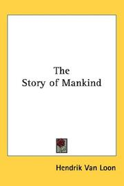 Cover of: The Story of Mankind