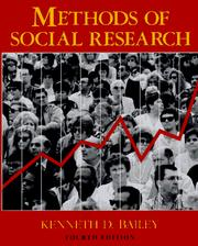 Methods of Social Research: 4th Edition