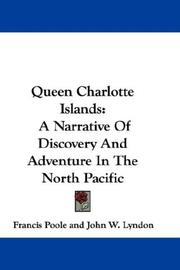 Cover of: Queen Charlotte Islands | Francis Poole