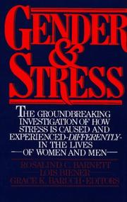 Cover of: Gender and stress |