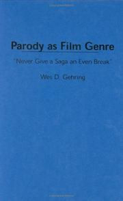 "Cover of: Parody as film genre: ""never give a saga an even break"""