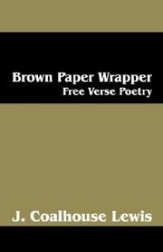 Cover of: Brown Paper Wrapper | J Coalhouse Lewis