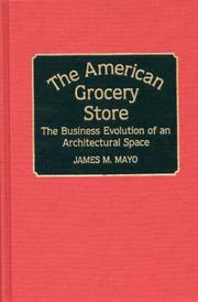 Cover of: The American grocery store