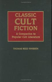 Cover of: Classic cult fiction | Thomas R. Whissen