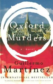 Cover of: The Oxford Murders
