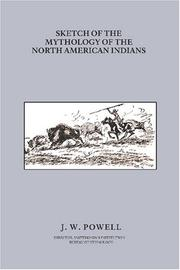 Cover of: Sketch of the mythology of the North American Indians