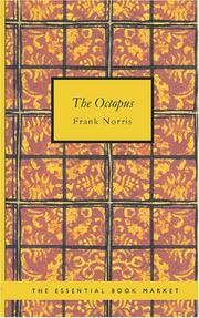 Cover of: The Octopus | Frank Norris