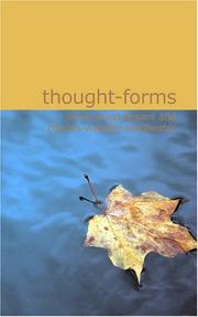Cover of: Thought Forms
