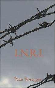 Cover of: I.N.R.I: a prisoner's story of the cross