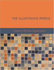 Cover of: The Illustrious Prince