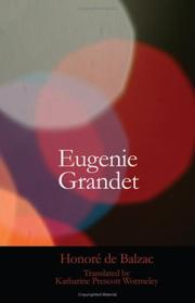 Cover of: Eugenie Grandet | Honoré de Balzac