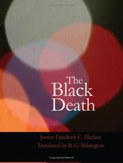 Cover of: The Black Death: The Dancing Mania