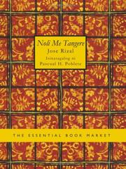 Cover of: Noli Me Tangere (Large Print Edition) by José Rizal