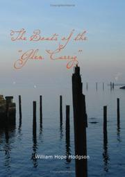 "Cover of: The Boats of the ""Glen Carrig"""