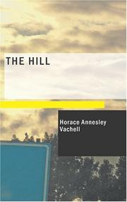 Cover of: The Hill: a romance of friendship