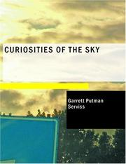 Cover of: Curiosities of the Sky