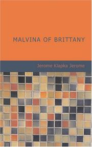 Cover of: Malvina of Brittany