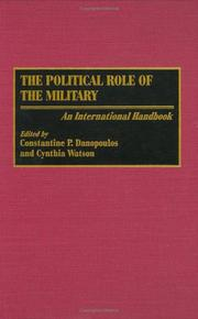 Cover of: The Political Role of the Military |