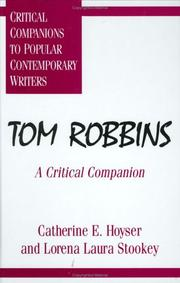 Cover of: Tom Robbins
