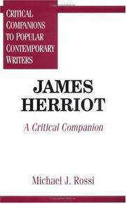 Cover of: James Herriot