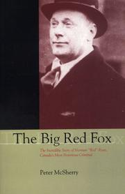 Cover of: The big red fox