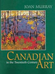 Cover of: Canadian art in the twentieth century