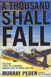 Cover of: A Thousand Shall Fall | Murray Peden