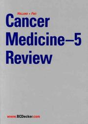 Cover of: Cancer Medicine-5 Review |