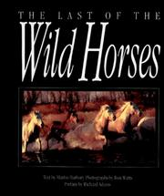 Cover of: The Last of the Wild Horses | Martin Harbury