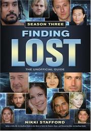 Cover of: Finding Lost - Season Three
