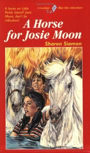 Cover of: A Horse for Josie Moon