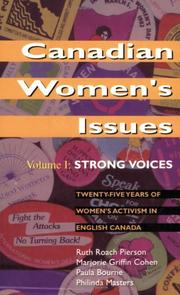 Cover of: Canadian Women