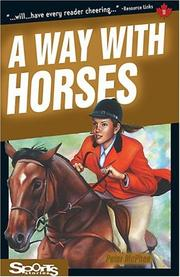 Cover of: A Way with Horses (Sports Stories Series) | Peter McPhee