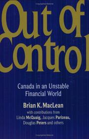 Cover of: Out of control |