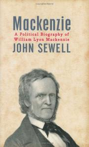 Cover of: Mackenzie | John Sewell