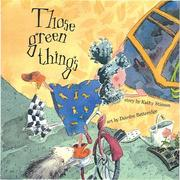 Cover of: Those green things