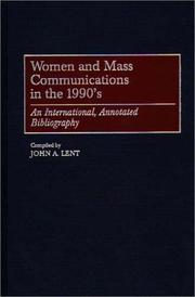 Cover of: Women and mass communications in the 1990