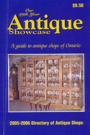 Cover of: Antique Showcase Directory