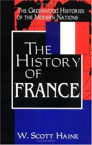 Cover of: The History of France